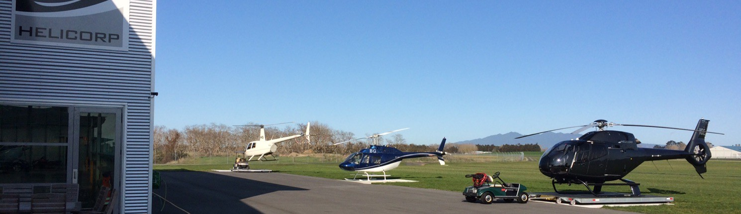 Helicorp at Hamilton Heliport
