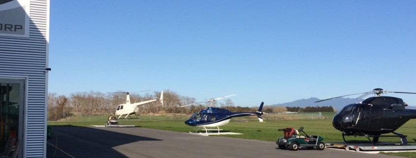 Helicorp at Hamilton Heliport