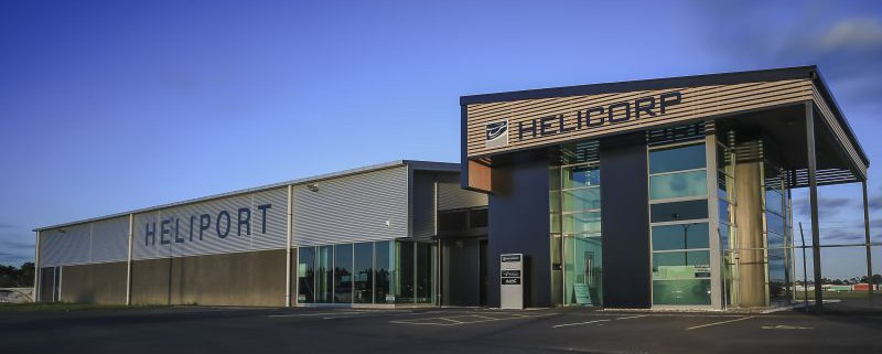 Hamilton Heliport - HQ for Helicorp NZ