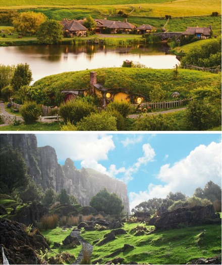 journey to middle earth with Helicorp NZ