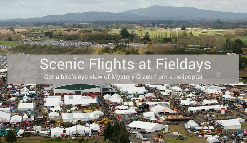 Fieldays helicopter transfers