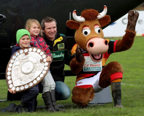Mooloo & Ranfurly Shield Helicorp Flight