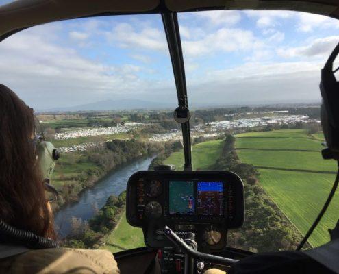 Fieldays helicopter flights